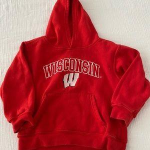 Kids Wisconsin Team Athletics Sweatshirt Hoodies 4